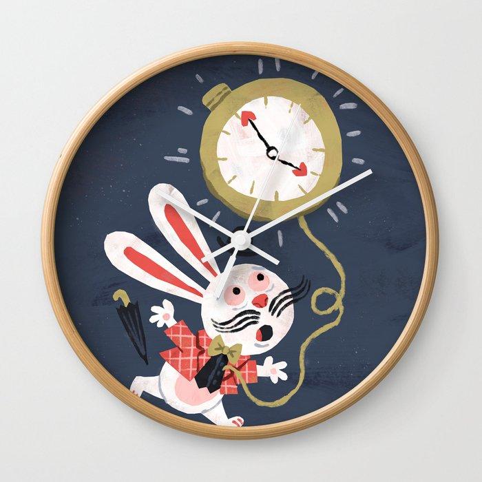 White Rabbit - Alice in Wonderland Wall Clock