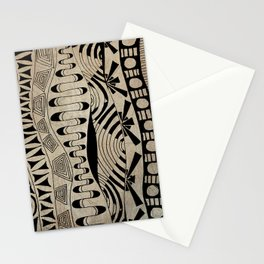 Lines Waves Stationery Cards