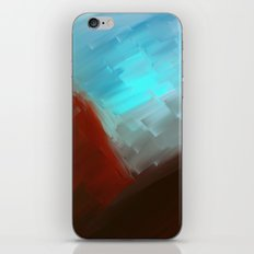 Mountains in blue iPhone & iPod Skin