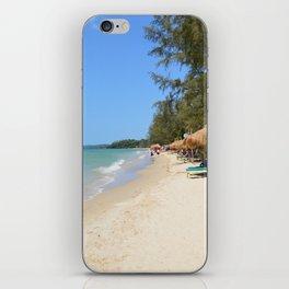 Otres Beach Sihanoukville Cambodia iPhone Skin