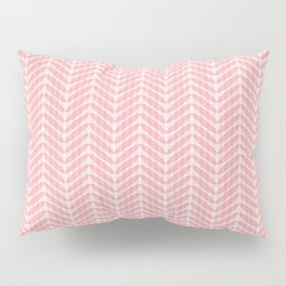Pink Frond Layers Small Pillow Sham