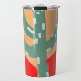 cactus colorful 10 Travel Mug