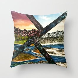 Seasonal Change Throw Pillow