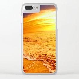 Loco Beach Clear iPhone Case
