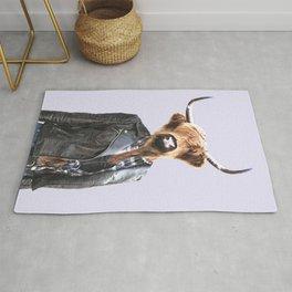 Cow Girl Rug