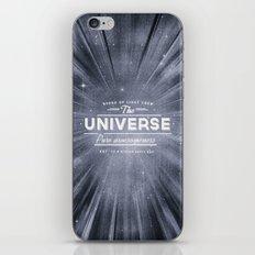 The Universe Crew iPhone Skin