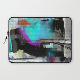 The river laughs of wet pines, this spring, sound tumult of water. (Haiku series n.2) Laptop Sleeve