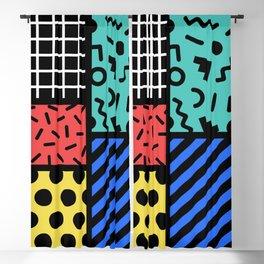 Memphis Composition 321 Blackout Curtain