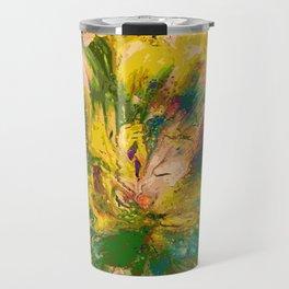 Springtime Color Explosion Travel Mug