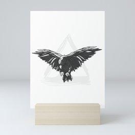 Odin Ravens Nordic Mythology Vikings Myth Mini Art Print