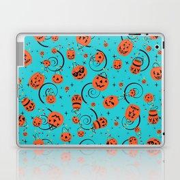 Halloween Magic- Turquoise Laptop & iPad Skin