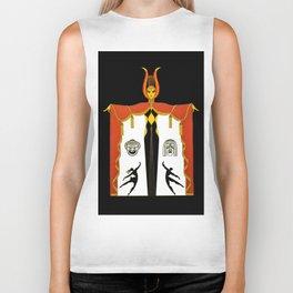 "Art Deco Design ""Fashion on Broadway"" Biker Tank"