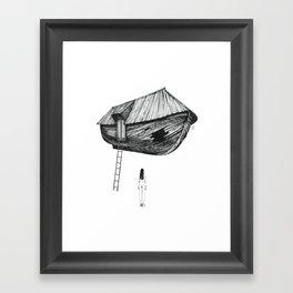Break-In Framed Art Print