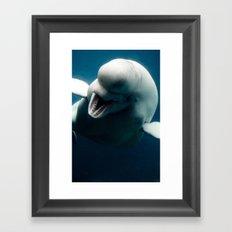 Swim So Free Framed Art Print
