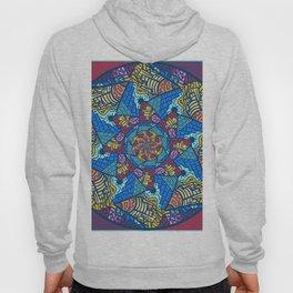 Mountain abstract mandala Hoody