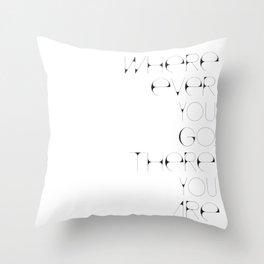Where Ever Throw Pillow