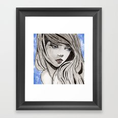 Kloe Framed Art Print