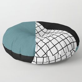 Checkered triangle Floor Pillow