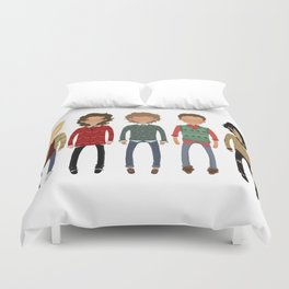 Christmas Sweaters Duvet Cover
