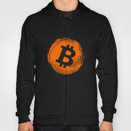 Bitcoin logo distressed - bitcoin crypto trader btc gift Hoody