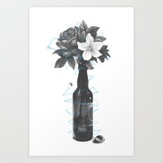 Buzzed Art Print