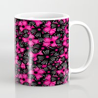 bows Mugs featuring Flashy Bows by Art Tree Designs