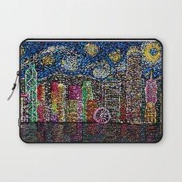 Starry Night of Hong Kong Laptop Sleeve
