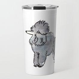 London - Dog Watercolour Travel Mug