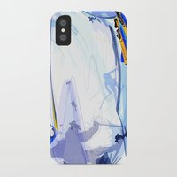 skiing iPhone & iPod Cases featuring Downhill Skiing by Robin Curtiss