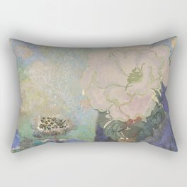A remembrance of Redon- Purple Haze Rectangular Pillow