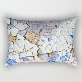 Textured peeling paint  Rectangular Pillow