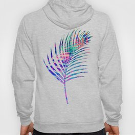 Colorful abstract palm leaves 2 Hoody
