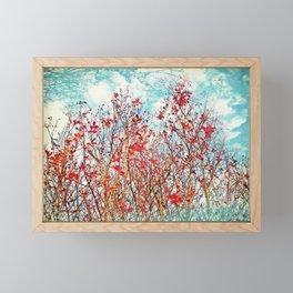 I Scratch the Sky Framed Mini Art Print