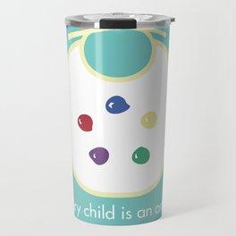 Every child is an artist Travel Mug