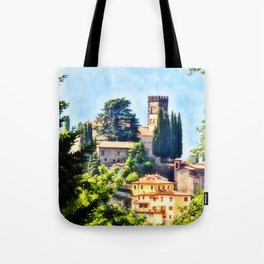 Duomo of Barga (color) Tote Bag
