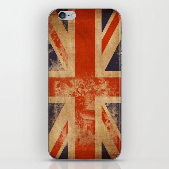 United Kingdom Flag iPhone & iPod Skin