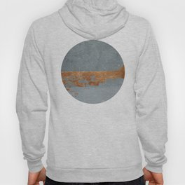 copper & grey sky Hoody