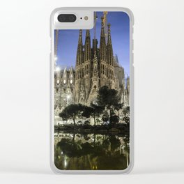Sagrada Familia / Gaudí-Barcelona Clear iPhone Case