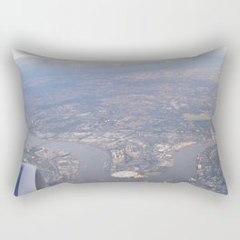 London From The Air Rectangular Pillow