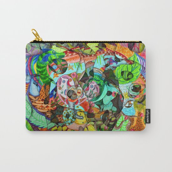 Everything in life is treasure if we learn to change the measure Carry-All Pouch