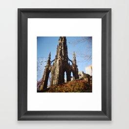sir scott Framed Art Print