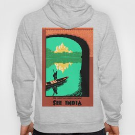 See India - Chattar Manzil Lucknow - Vintage Travel Hoody