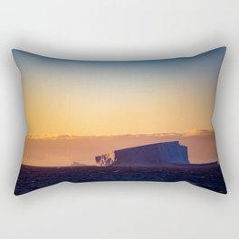 Sunset Iceberg Rectangular Pillow