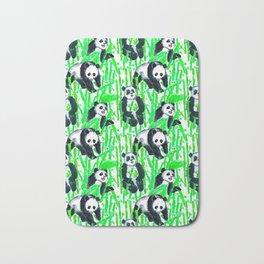 Painted Pandas Bath Mat