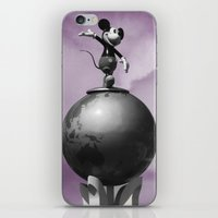 mickey iPhone & iPod Skins featuring Mickey by Eduardo Fiho