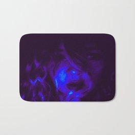Blue Anointed  Bath Mat