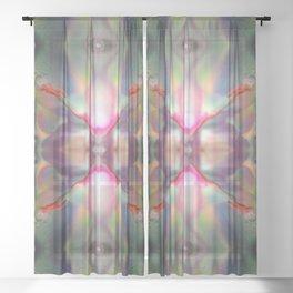 Mystic Universe 1 Sheer Curtain