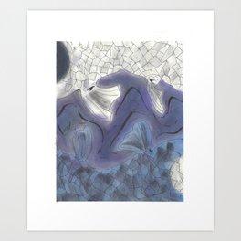 Yin and Yang Koi (2 of 3) Art Print