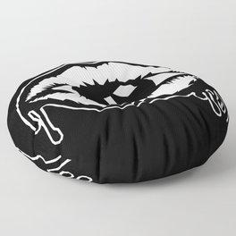 releasing the demon Floor Pillow