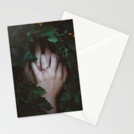 Hands Nature Stationery Cards